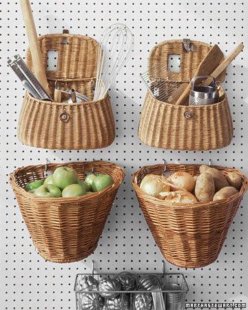 Hanging Basket Organization