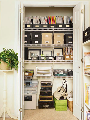Office Closet Organization