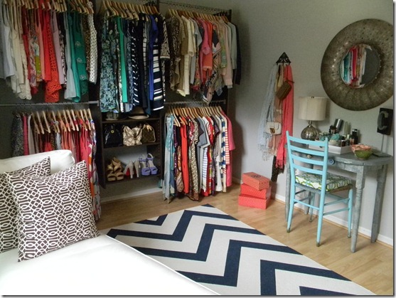 Spare Bedroom as Closet